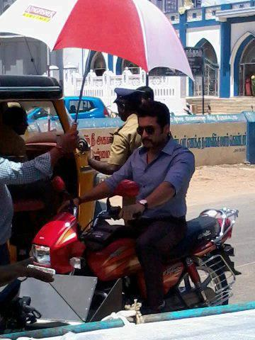 Singam 2 shooting spot in Kerala kollam suriya