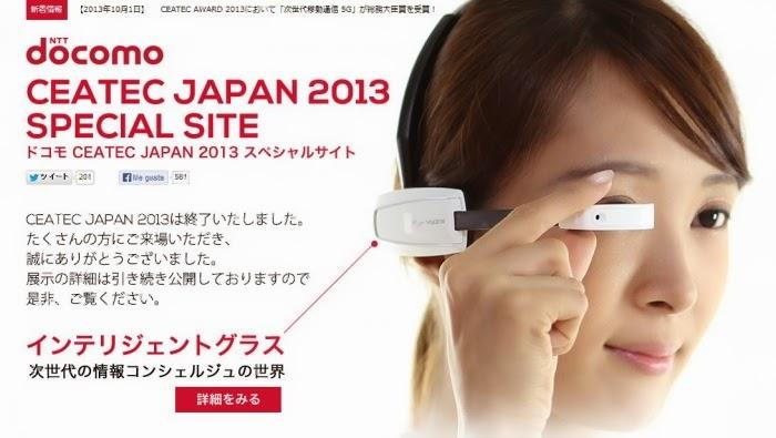 """Crean lentes estilo """"Google glass"""" para traducir japonés en tiempo real"""