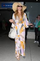 Paris Hilton retro dress