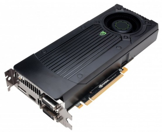 A picture of the GTX 760 reference by nVidia