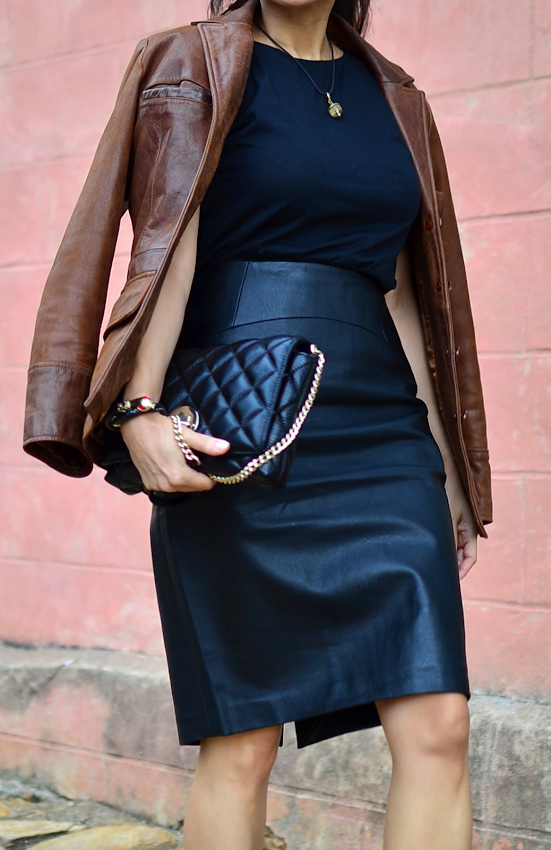 How to wear all leather