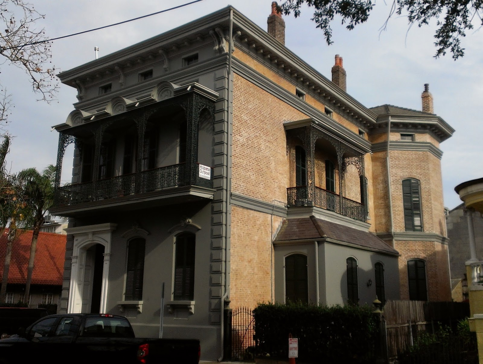 The picturesque style italianate architecture the for New house architecture