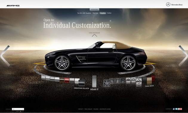 World Tuning Build Your Mercedes Benz Sls Amg Roadster