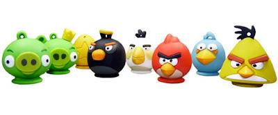 Nuevas memorias USB de Angry Birds