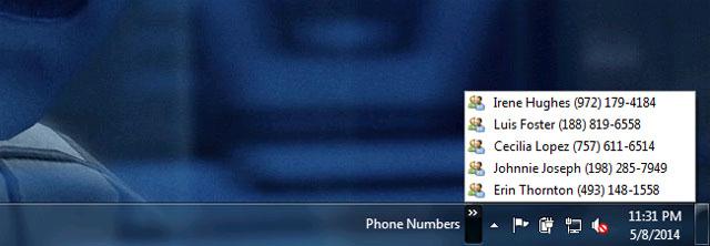 ghi chú ngắn trong thanh tác vụ của Windows 5