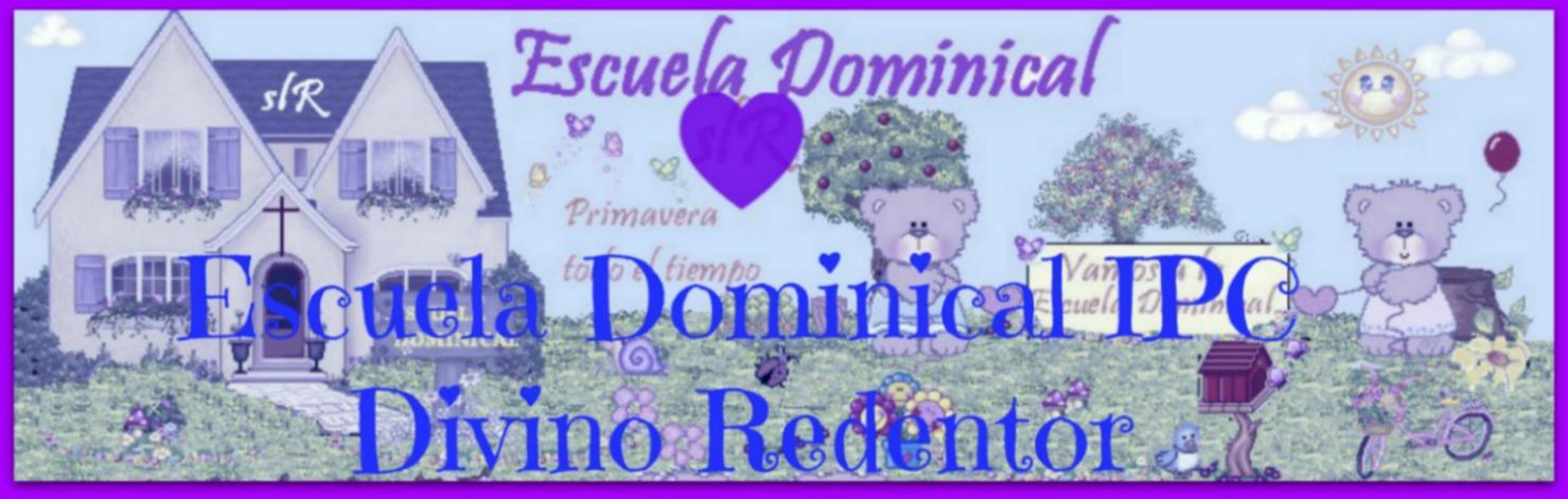 Escuela Dominical Principiantes y Parvulos