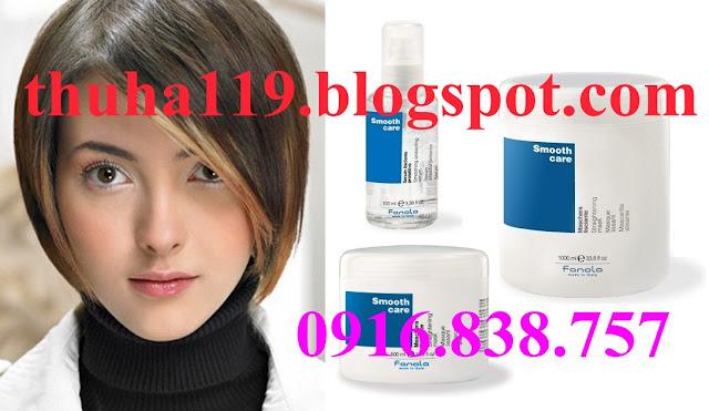 Tinh dầu Fanola Smooth Care - Chăm sóc tóc duỗi - Made in Italy