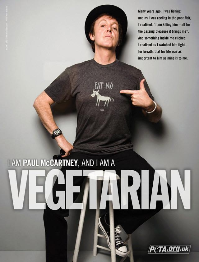 Lennon era macrobiótico. Harrison, Ringo Starr y McCartney, vegetarianos los tres.
