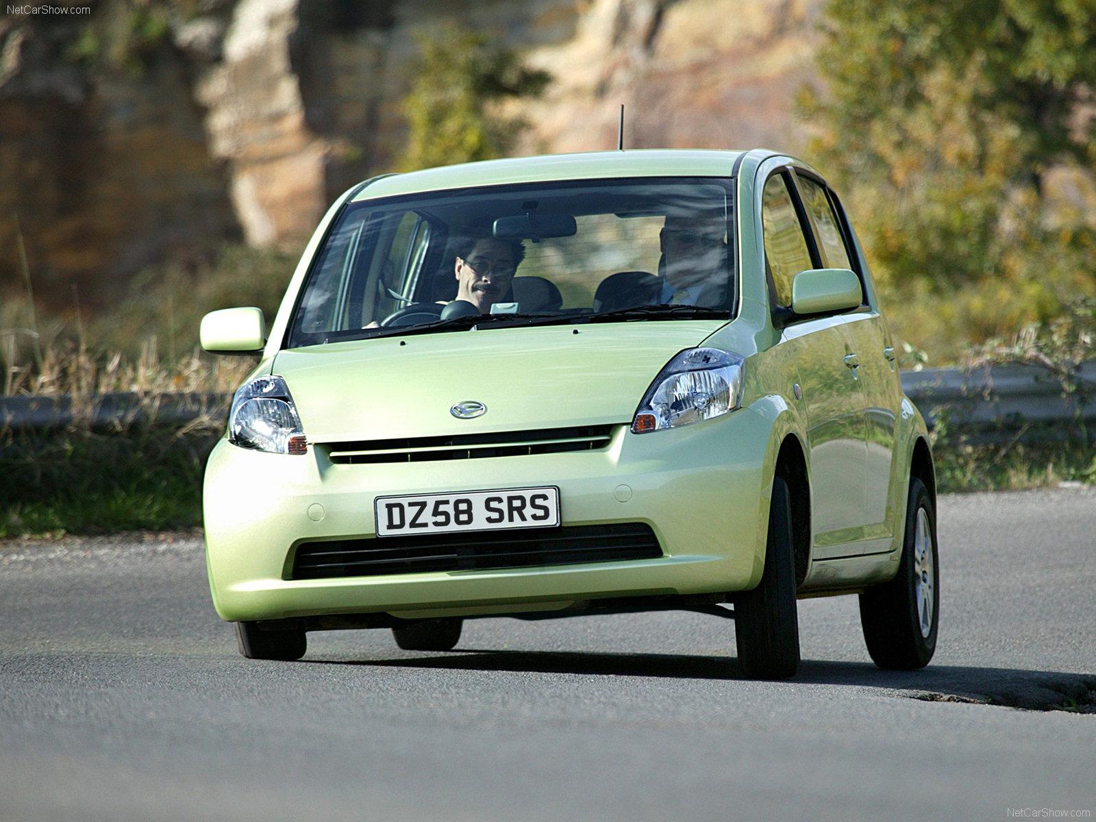 Hình ảnh xe ô tô Daihatsu Sirion 2007 & nội ngoại thất