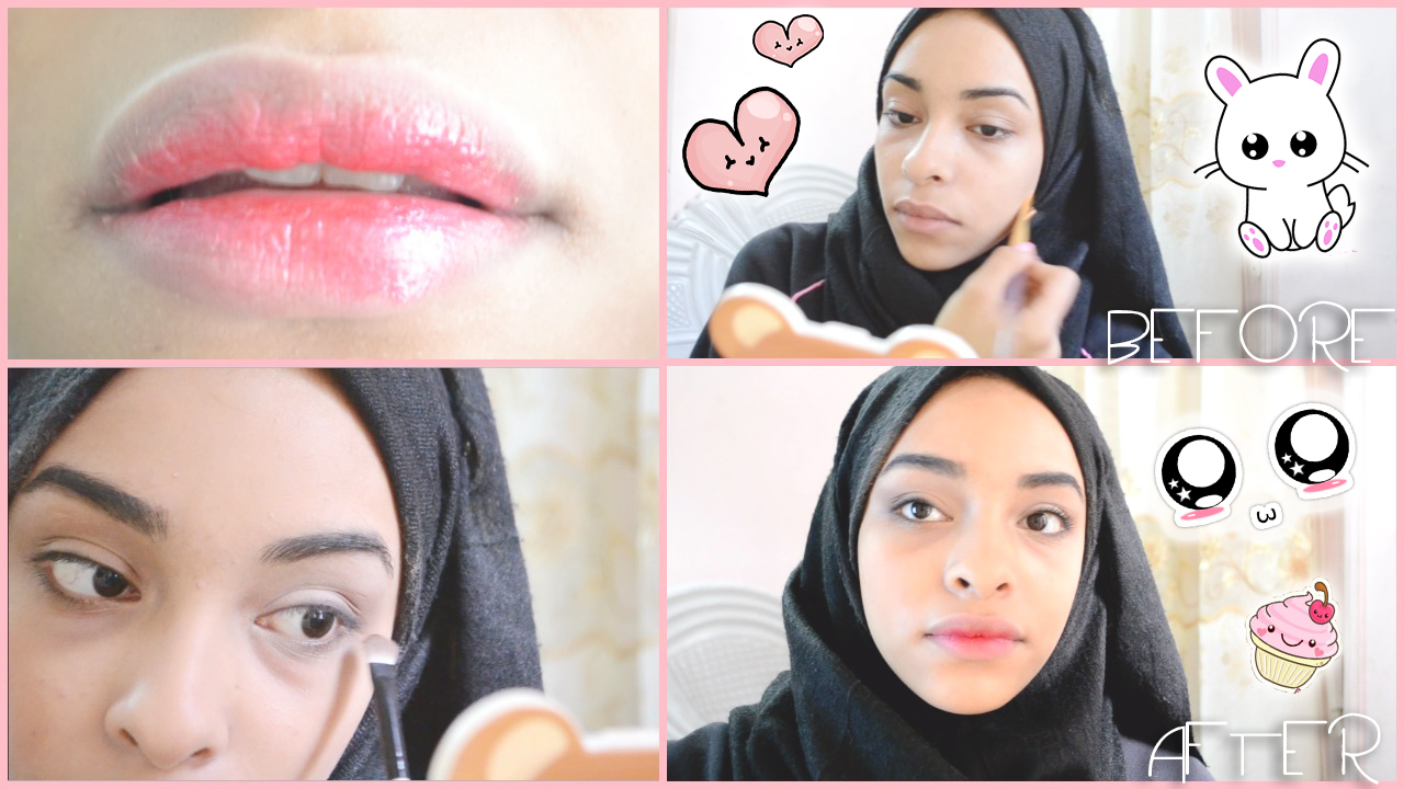 VIDOE: Korean Makeup Tutorial w/ Juicy gradient lips ...