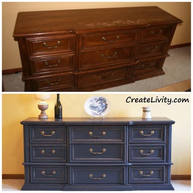 CreateLivity is Old Dresser Repurposed Into A Buffet : buffetintrowm from www.createlivity.com size 658 x 658 jpeg 50kB