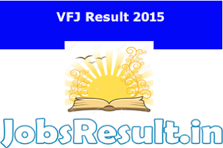 VFJ Result 2015