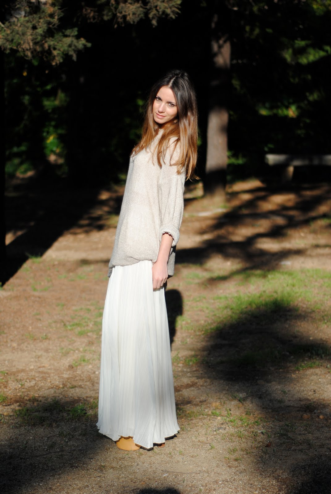Evafashion Blog Long Skirts Amp Sweaters