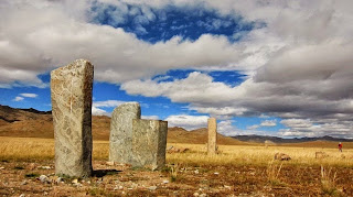 Mysterious deer stones of Mongolia