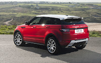 Range Rover Evoque backside