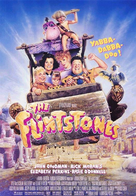 Flintstones 1994 movie poster
