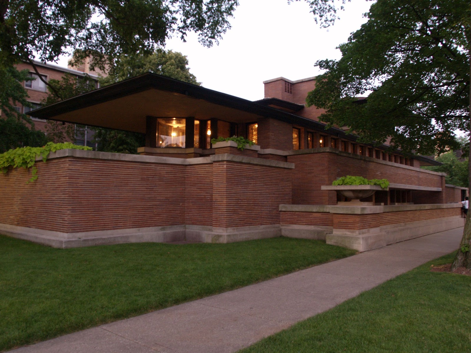 Sketchup vray artists sva rendering challenge the robie for Frank lloyd wright list of houses