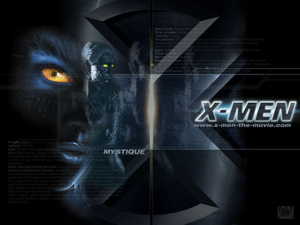 Movies Wallpaper X Men Mystique