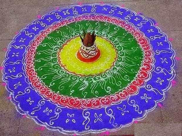 Diwali Rangoli Ideas 2014