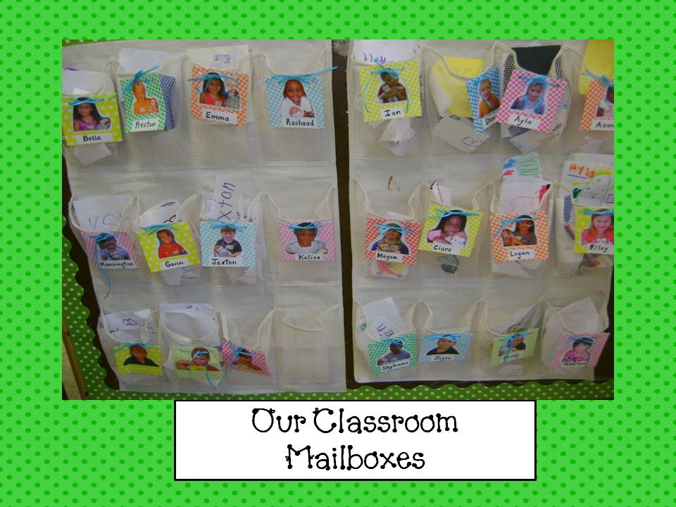 preschool mailbox my kindergarten our classroom mailboxes and writing 165