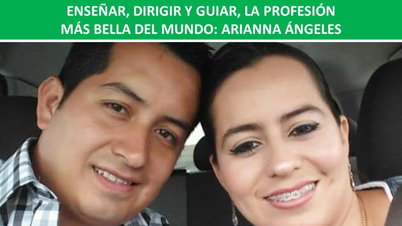 LA PROFESIÓN MÁS BELLA DEL MUNDO: ARIANNA ÁNGELES