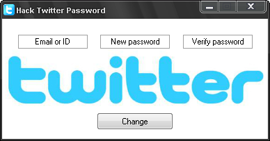 Hacking Twitter Account Password