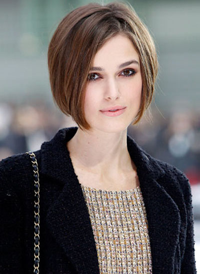 Keira Knightley's Bob Haircut Ideas