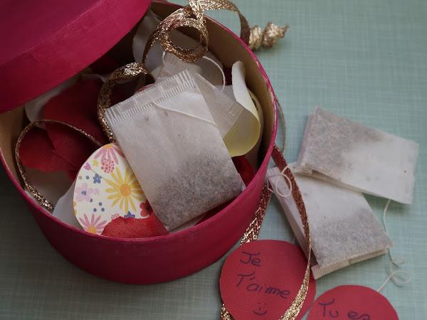 DIY Spécial fête des mères : Boîte à thé personnalisée