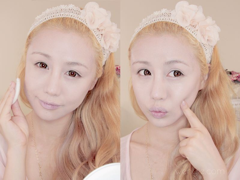Doll makeup tutorial become a porcelain doll in 8 steps the such smooth perfect skin after you apply 3 layers of face stuff ccuart Images