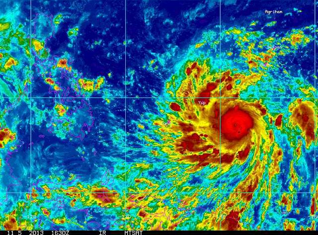 Screenshot taken from Goes.Noaa.Gov Guam