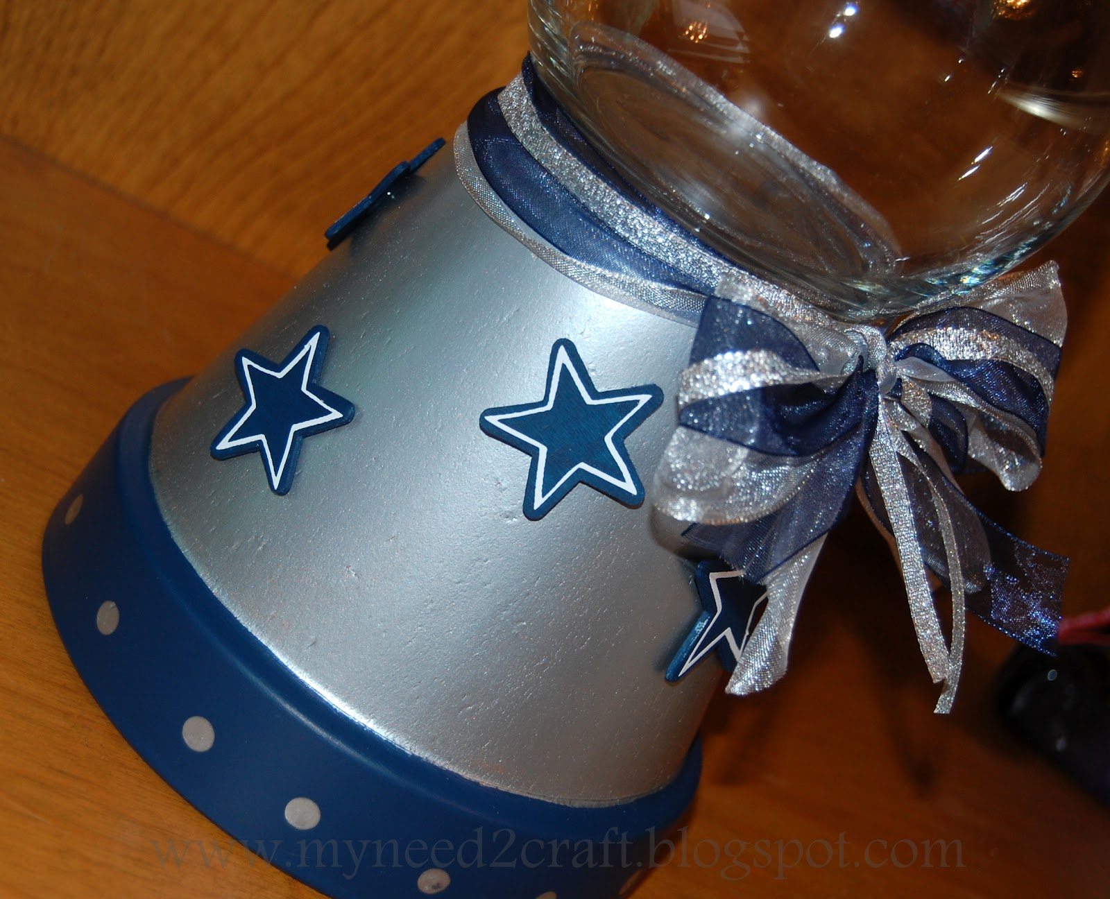 here is another dallas cowboy themed one additional stars were