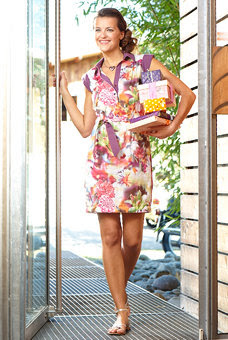 Belted Dress Sewing Pattern