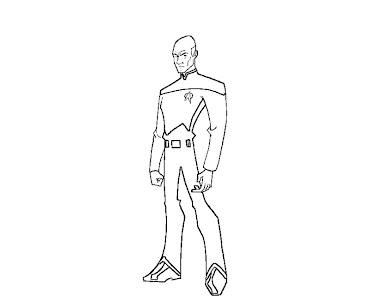 #1 Star Trek Coloring Page