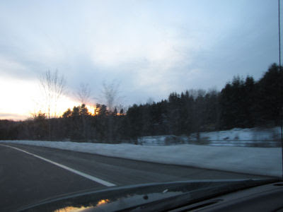 Catskill Mountains from Route 17/86