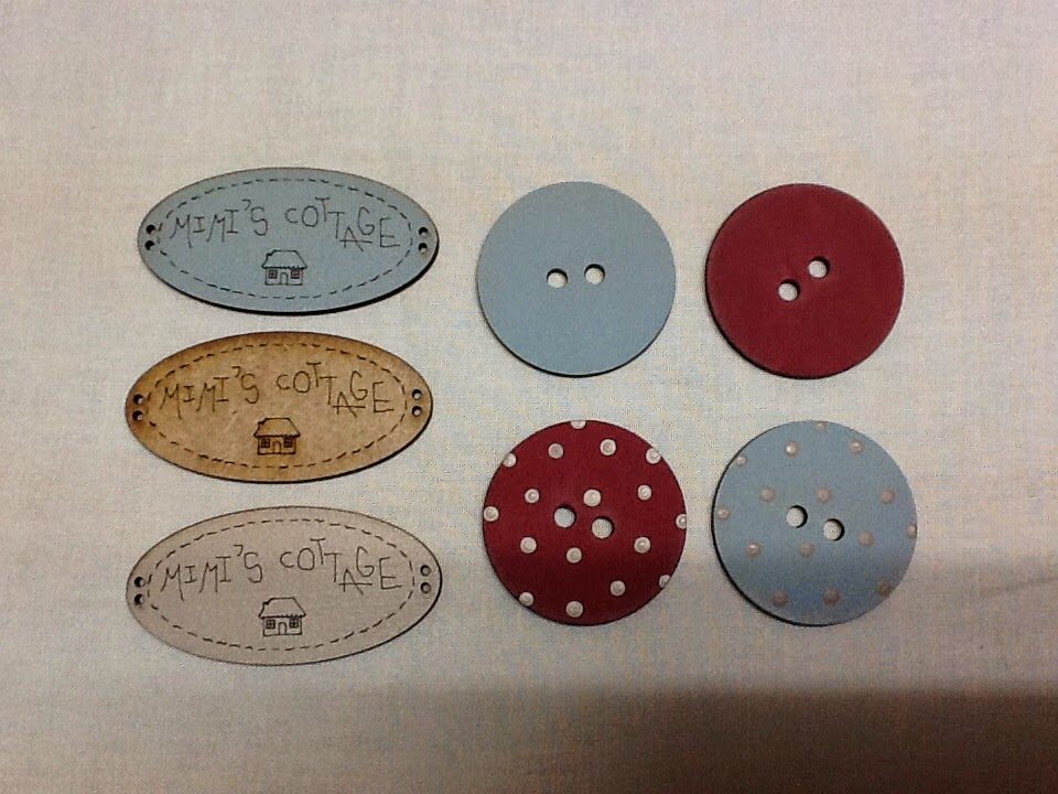 .botones MIMI'S COTTAGE