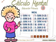 CÁLCULO MENTAL. 3 NIVEIS