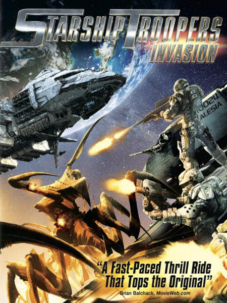 Starship Troopers Invasion [2012]