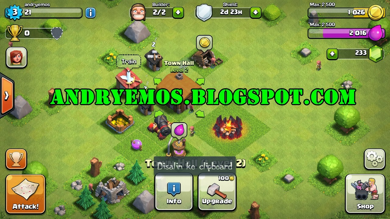 Cheat Game Clash of Clans [CSV EDIT] | No Survey | ID Jari |Share All ...