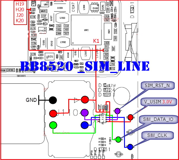 BlackBerry 8520 Charging Ways Solution
