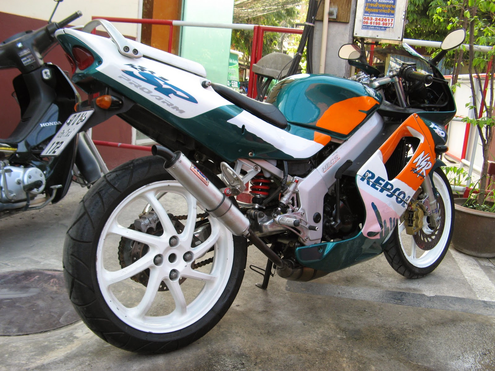 Modifikasi Honda NSR 150 SP