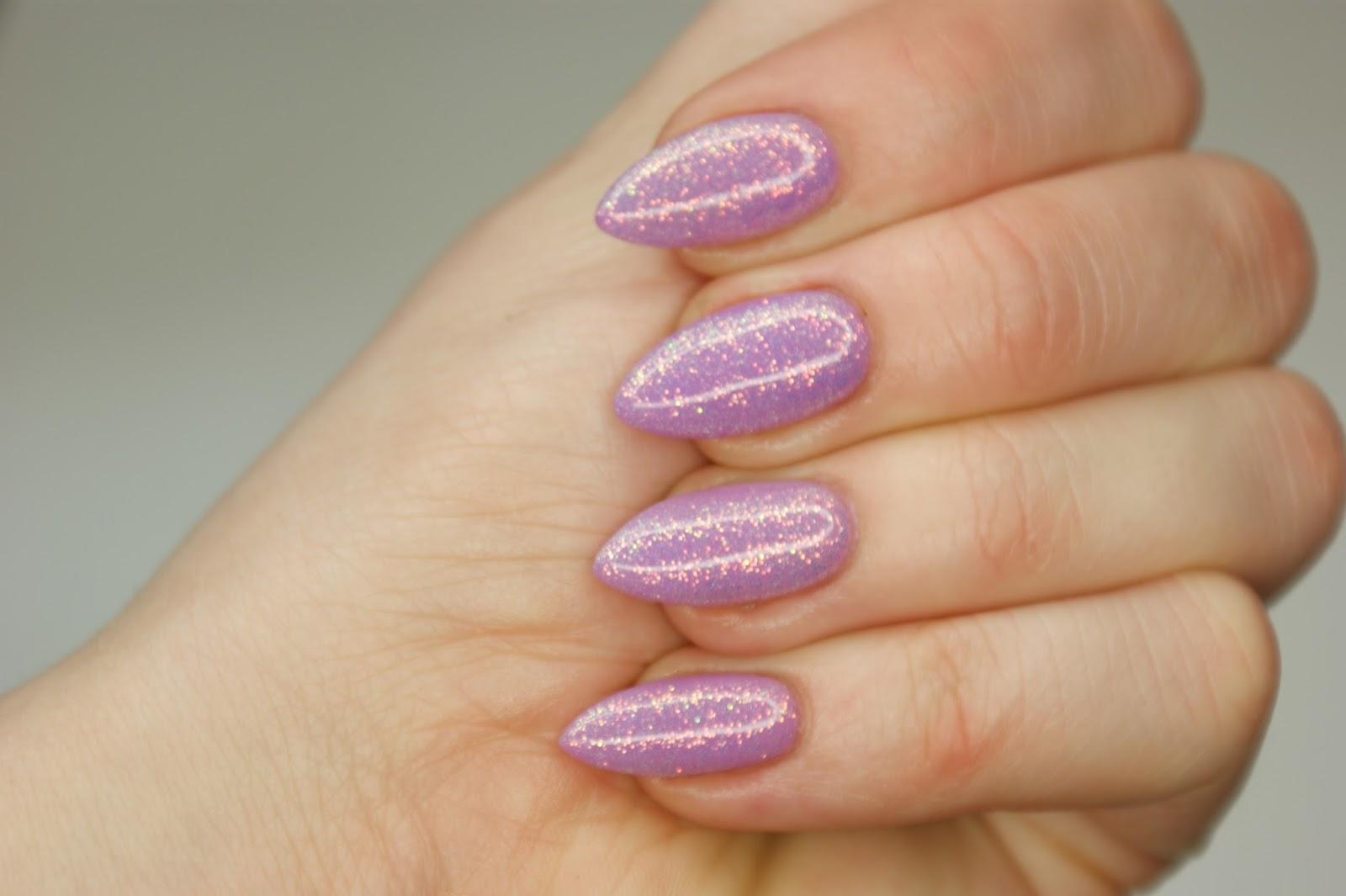 Biankowo Manicure Hybrydowy Semilac 7 Efekt Syrenki Eclair