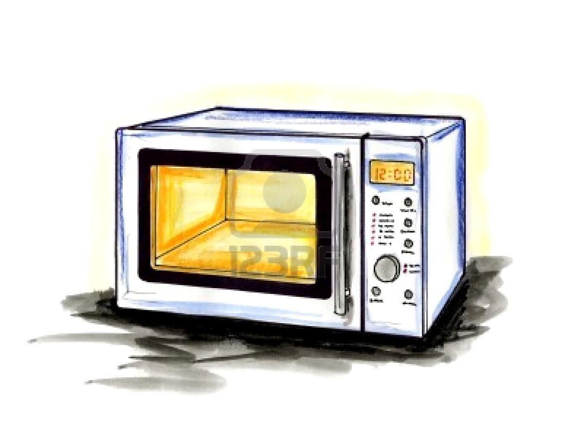 how to professionally clean inside microwave