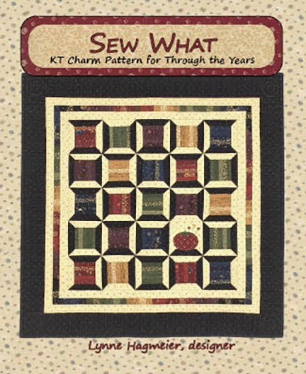 Sew What Charm Pattern