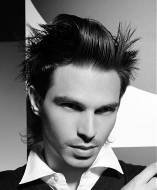 Peinados a la Moda Pelo corto para hombres con cresta - Peinados Con Cresta Hombres