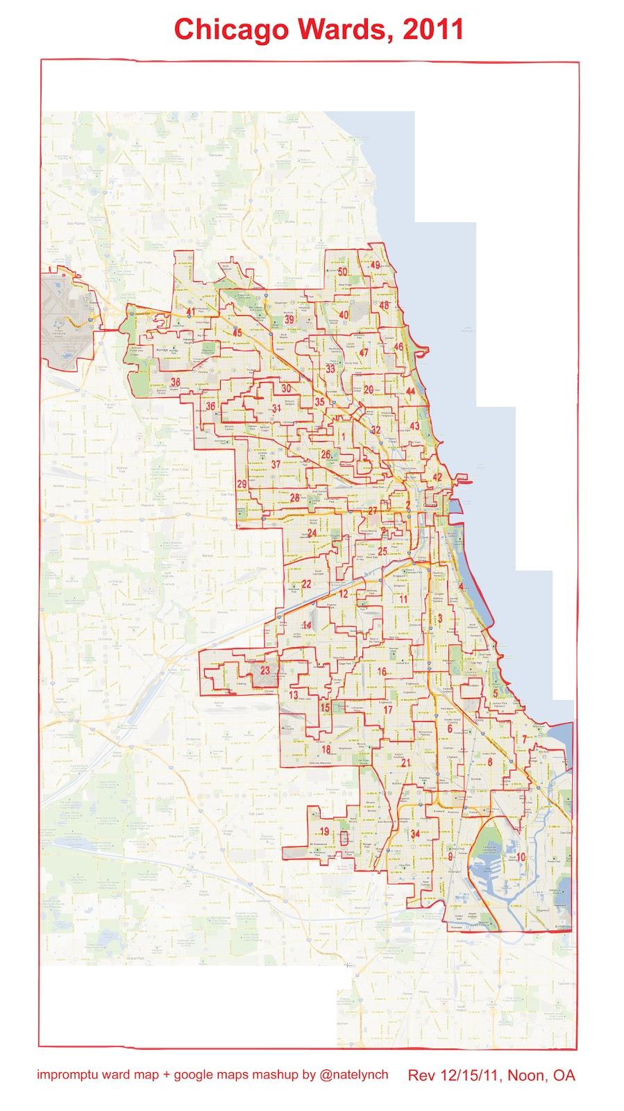 The Sixth Ward - Chicago alderman map