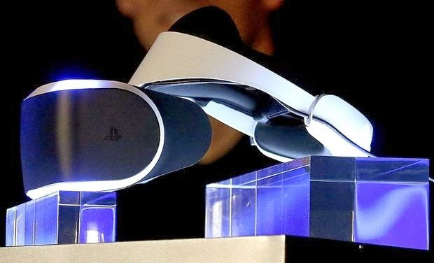 Sony Unveils a Virtual Reality Headset