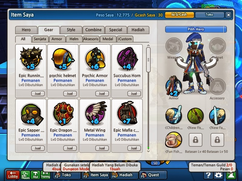 Prahara Update Cheat Lost Saga 1 November 2013 Sorry Telat Update