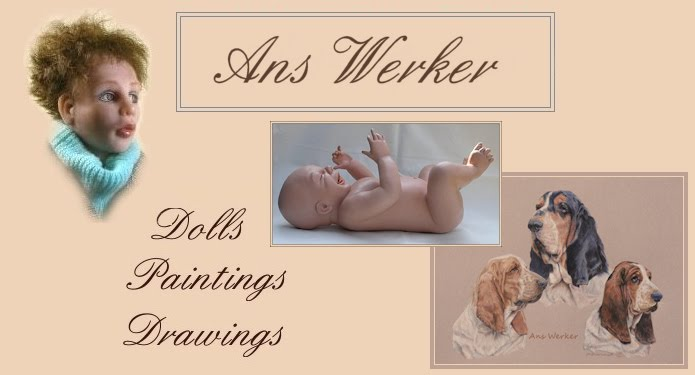 Ans Werker, ans-artplace, drawings and paintings, sculpture, dolls, botanical drawing course, etc.