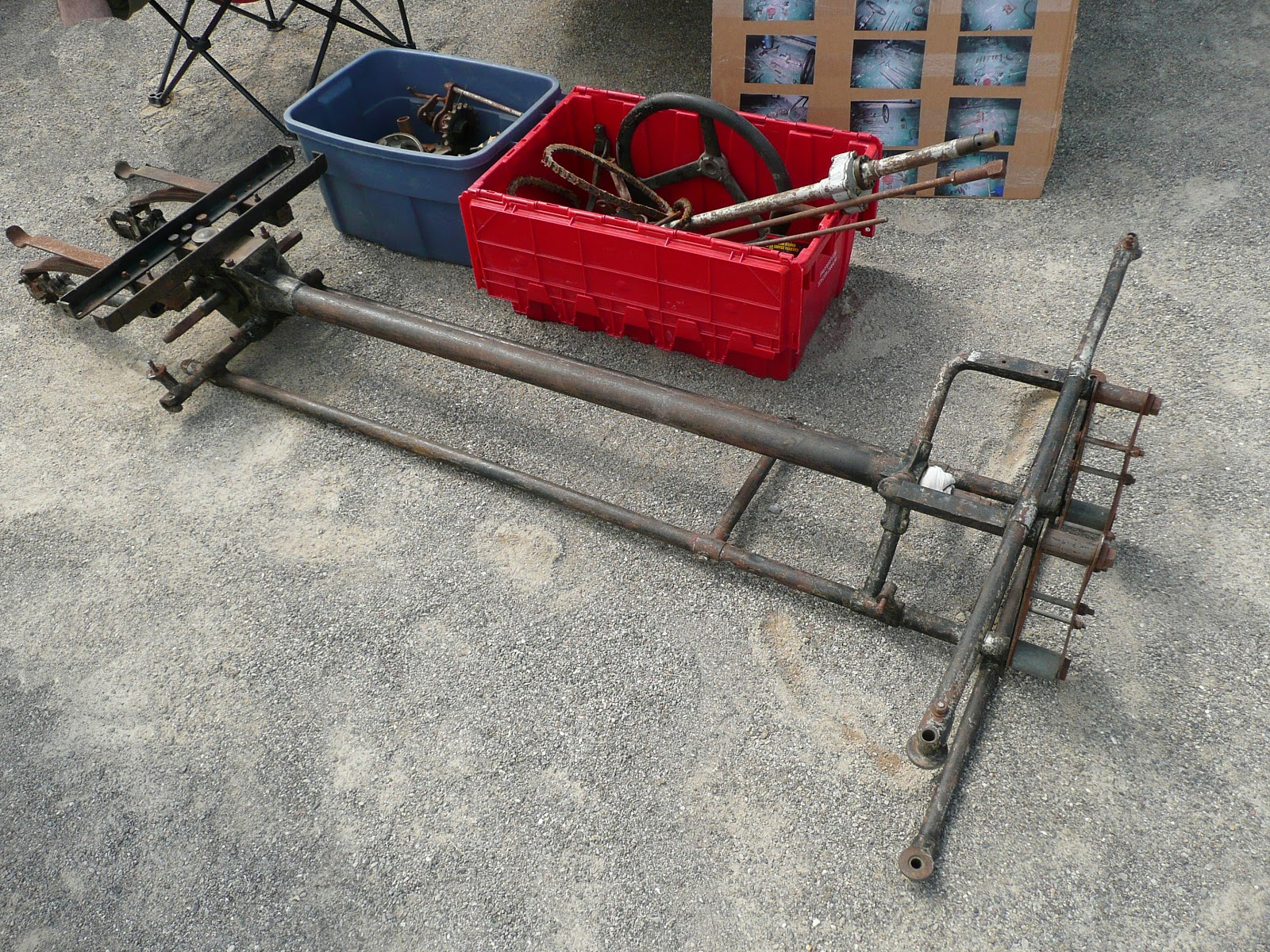 Three Wheeler Frame : Progress is fine but it s gone on for too long morgan