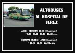 AUTOBUSES DIRECTO DESDE ARCOS AL HOSPITAL DE JEREZ